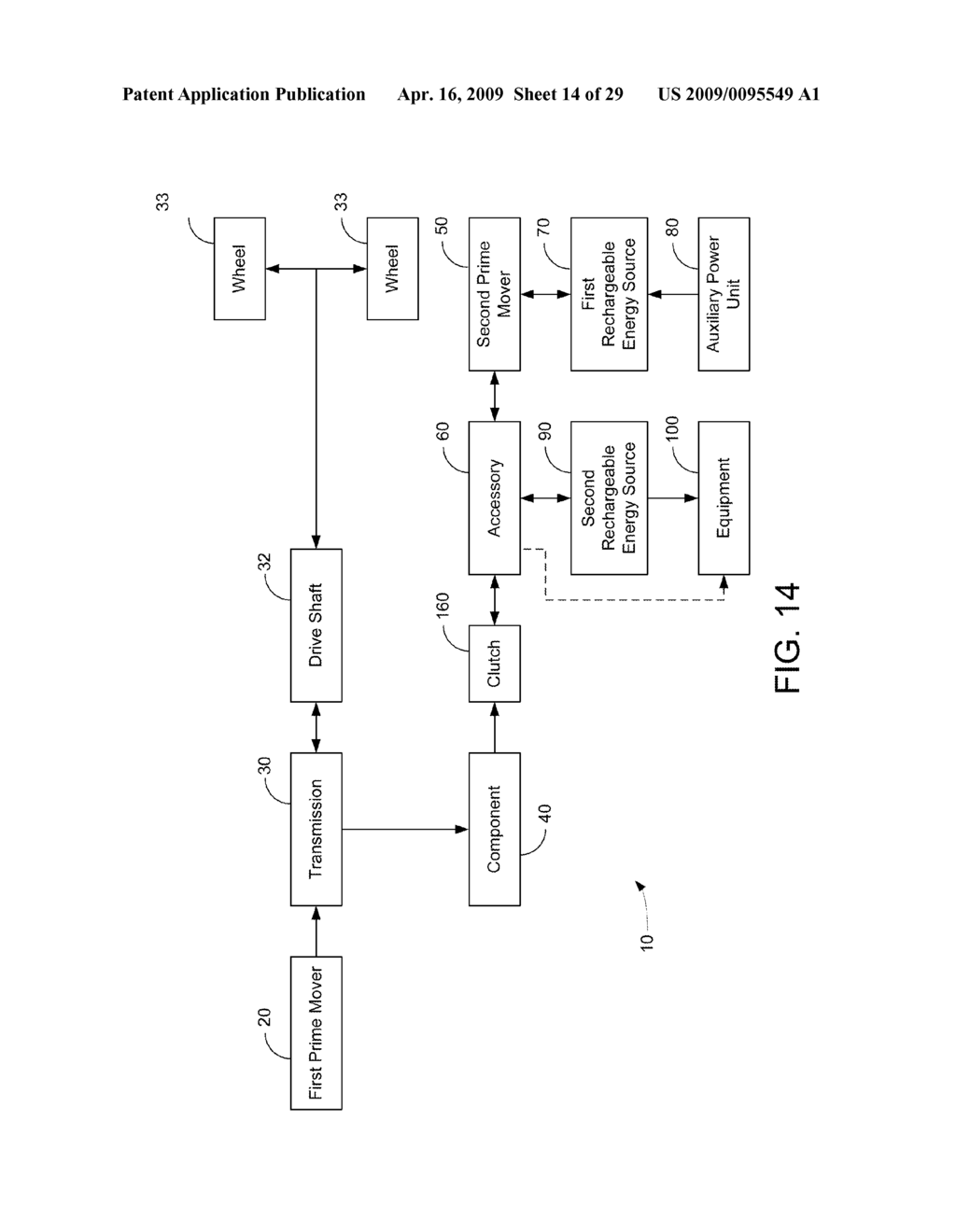 HYBRID VEHICLE DRIVE SYSTEM AND METHOD AND IDLE REDUCTION SYSTEM AND METHOD - diagram, schematic, and image 15