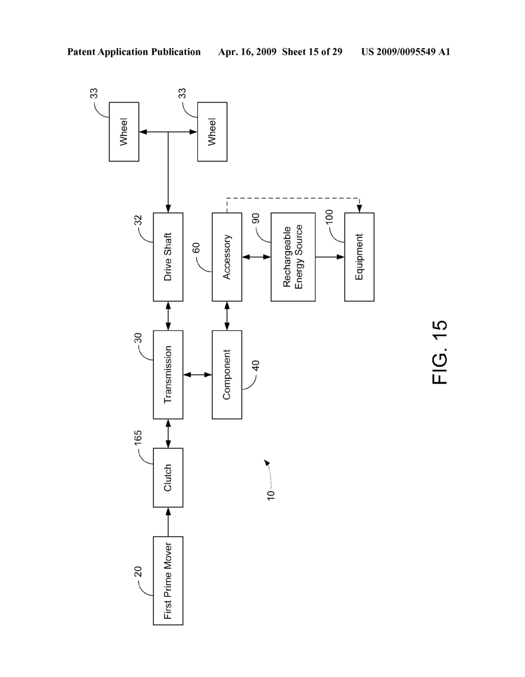 HYBRID VEHICLE DRIVE SYSTEM AND METHOD AND IDLE REDUCTION SYSTEM AND METHOD - diagram, schematic, and image 16