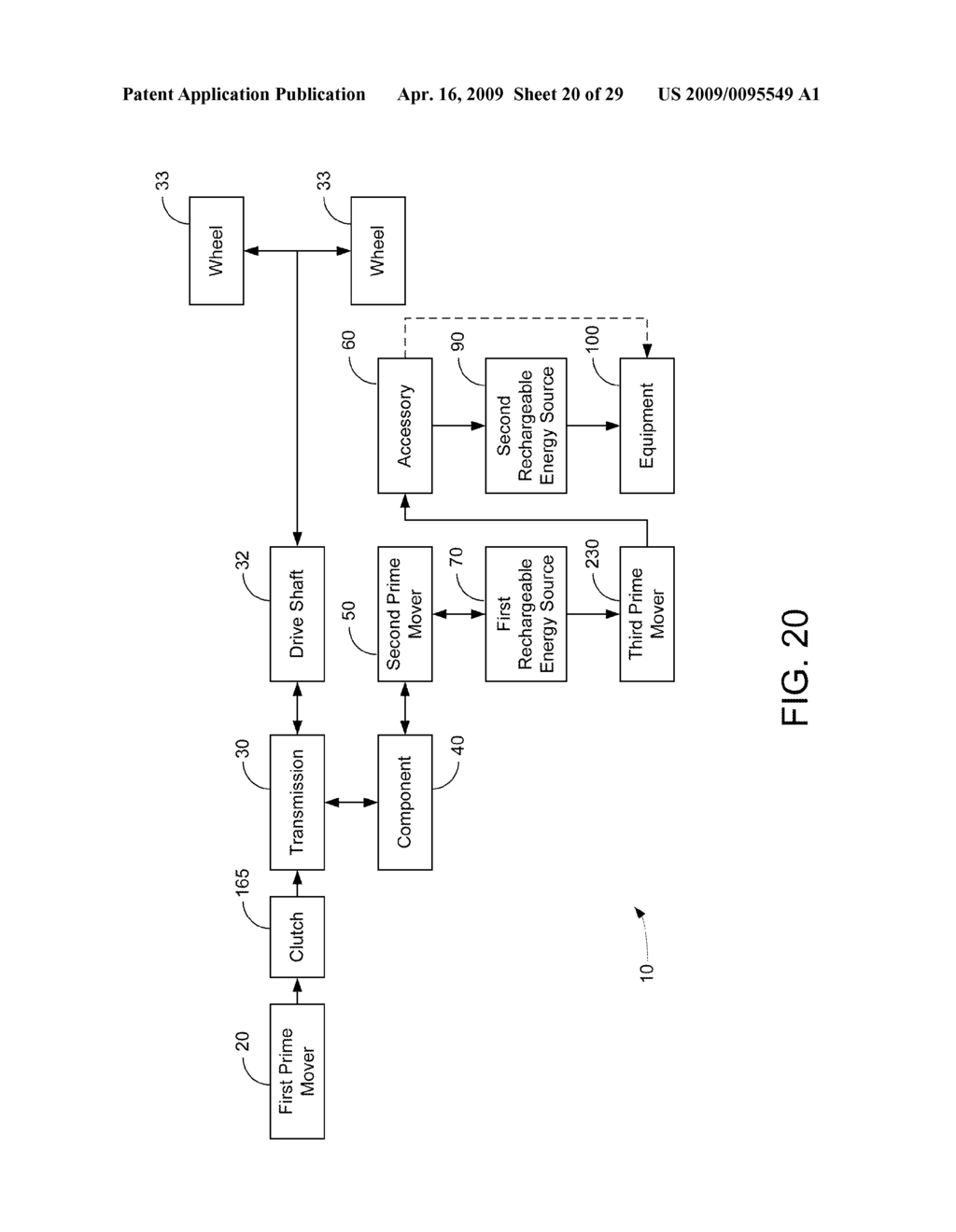 HYBRID VEHICLE DRIVE SYSTEM AND METHOD AND IDLE REDUCTION SYSTEM AND METHOD - diagram, schematic, and image 21