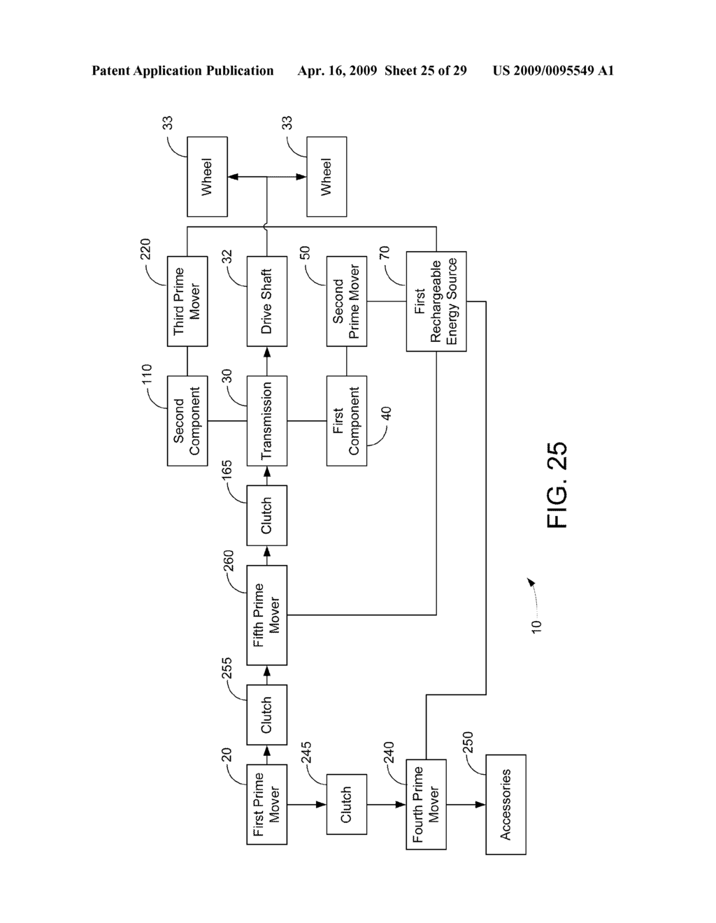HYBRID VEHICLE DRIVE SYSTEM AND METHOD AND IDLE REDUCTION SYSTEM AND METHOD - diagram, schematic, and image 26