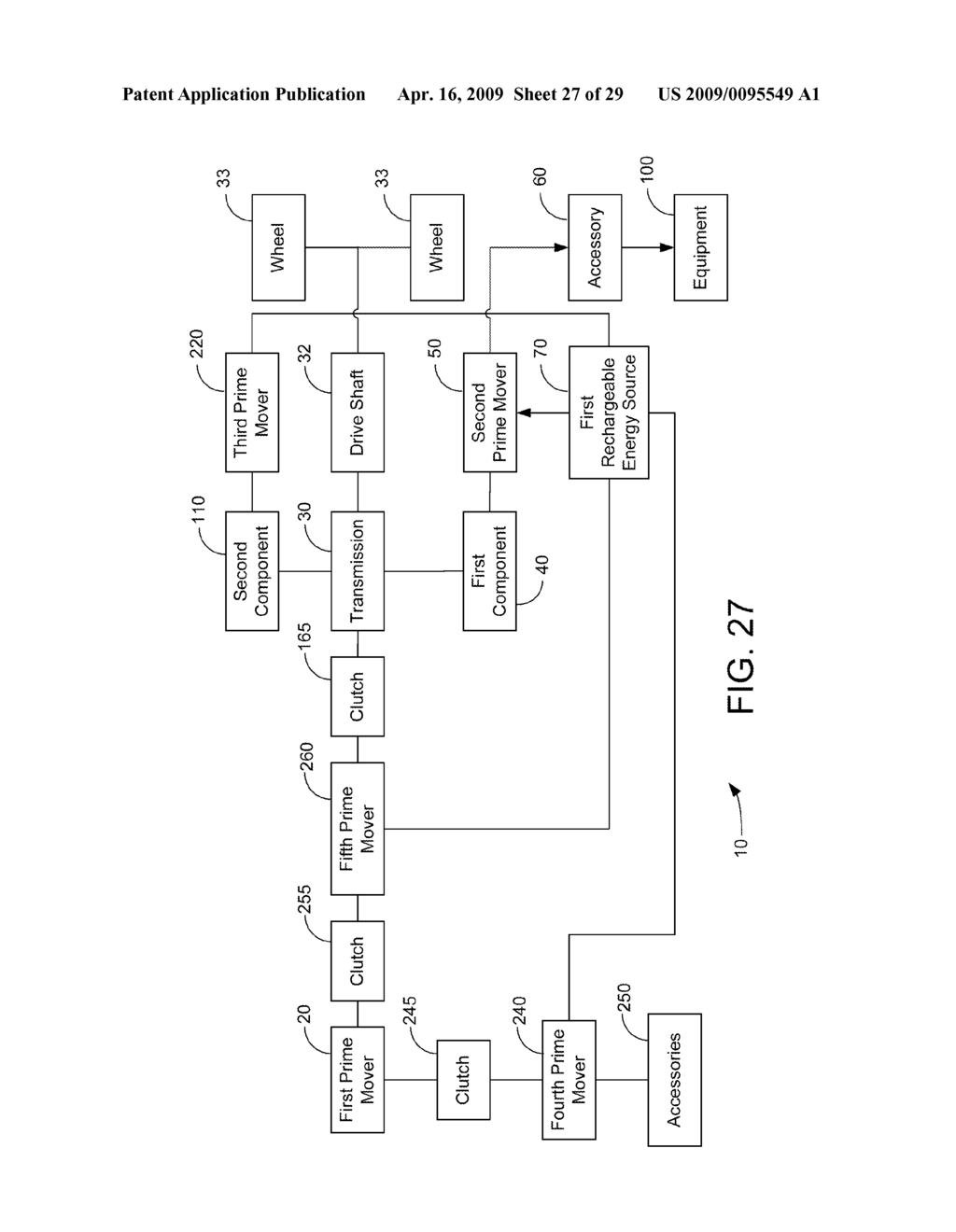 HYBRID VEHICLE DRIVE SYSTEM AND METHOD AND IDLE REDUCTION SYSTEM AND METHOD - diagram, schematic, and image 28
