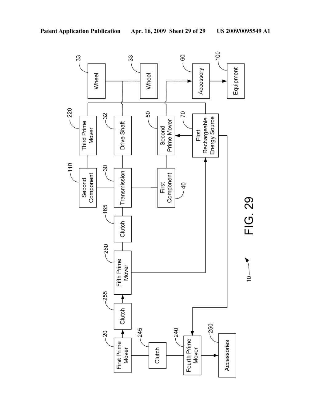 HYBRID VEHICLE DRIVE SYSTEM AND METHOD AND IDLE REDUCTION SYSTEM AND METHOD - diagram, schematic, and image 30