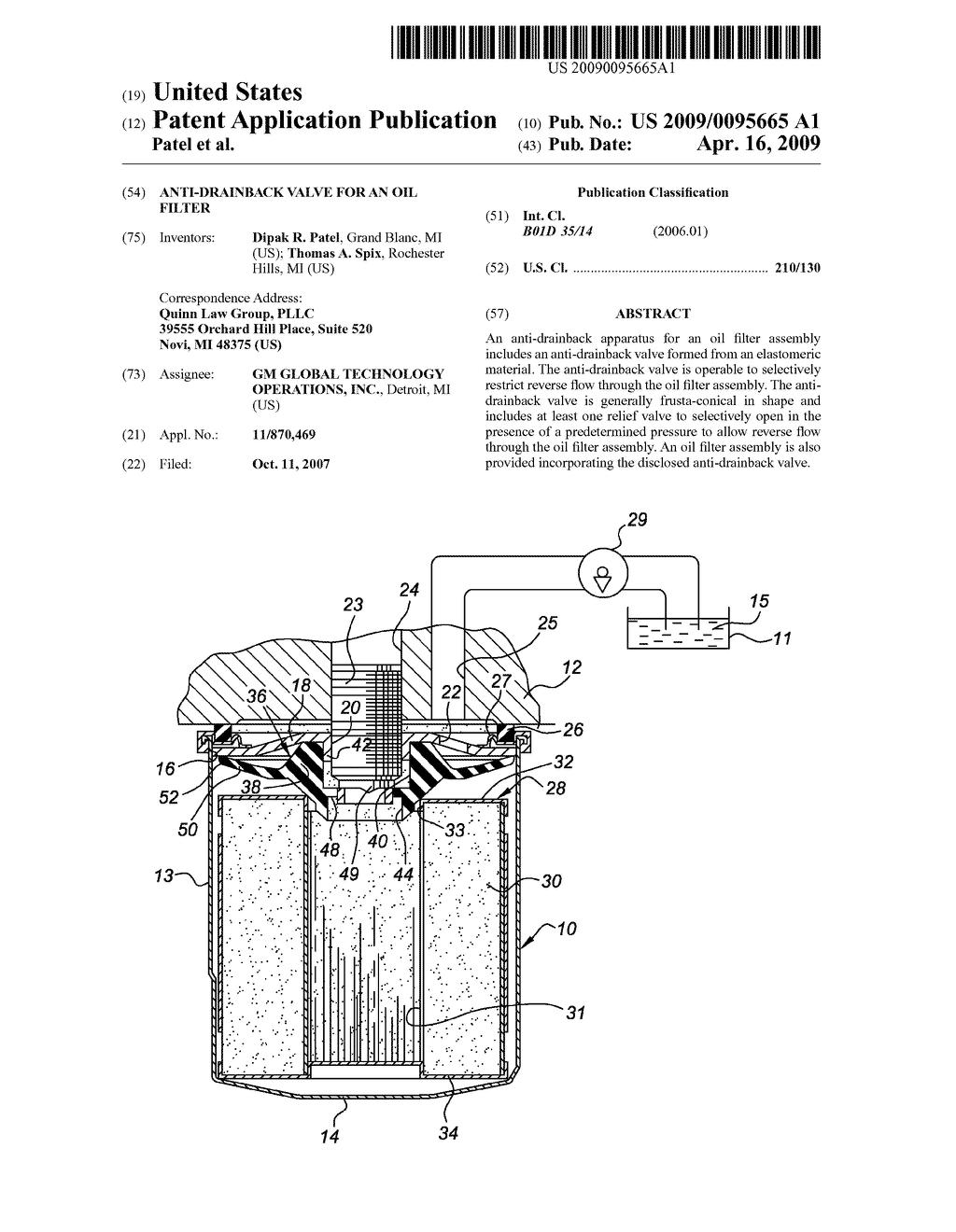 Oil Filter Diagram Wiring Database Mazda 3 Circuit Of Simple Schema For 2008 Anti Drainback