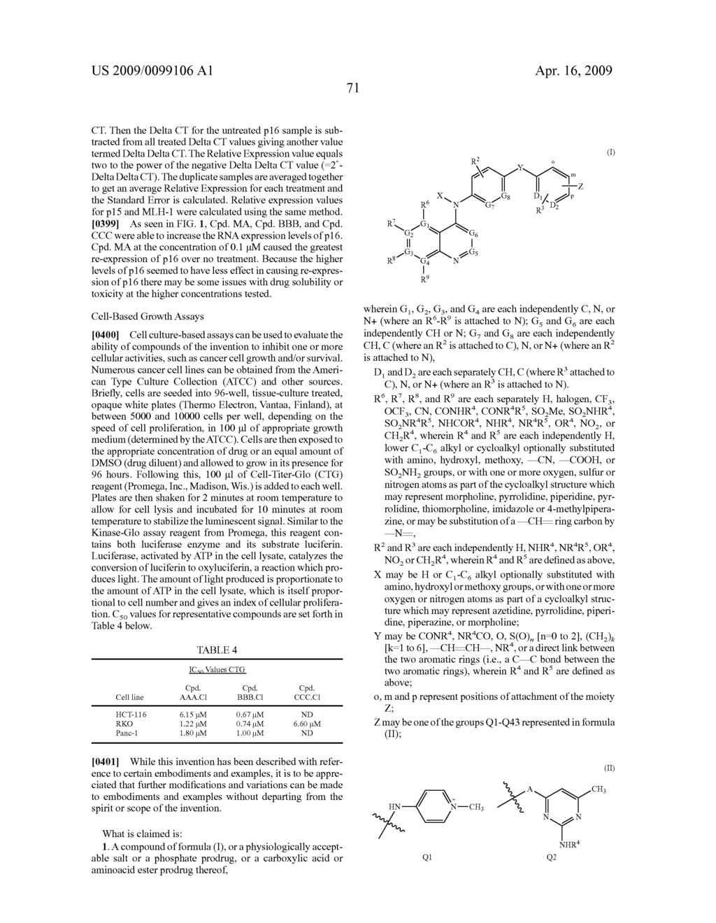 QUINOLINE DERIVATIVES FOR MODULATING DNA METHYLATION - diagram, schematic, and image 73