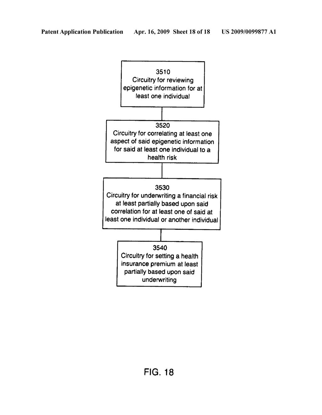 Systems and methods for underwriting risks utilizing epigenetic information - diagram, schematic, and image 19