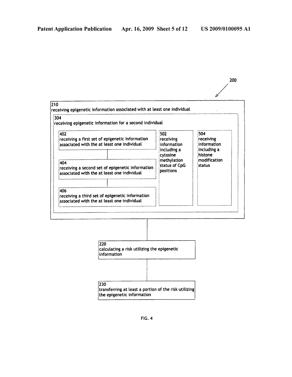 Systems and methods for reinsurance utilizing epigenetic information - diagram, schematic, and image 06
