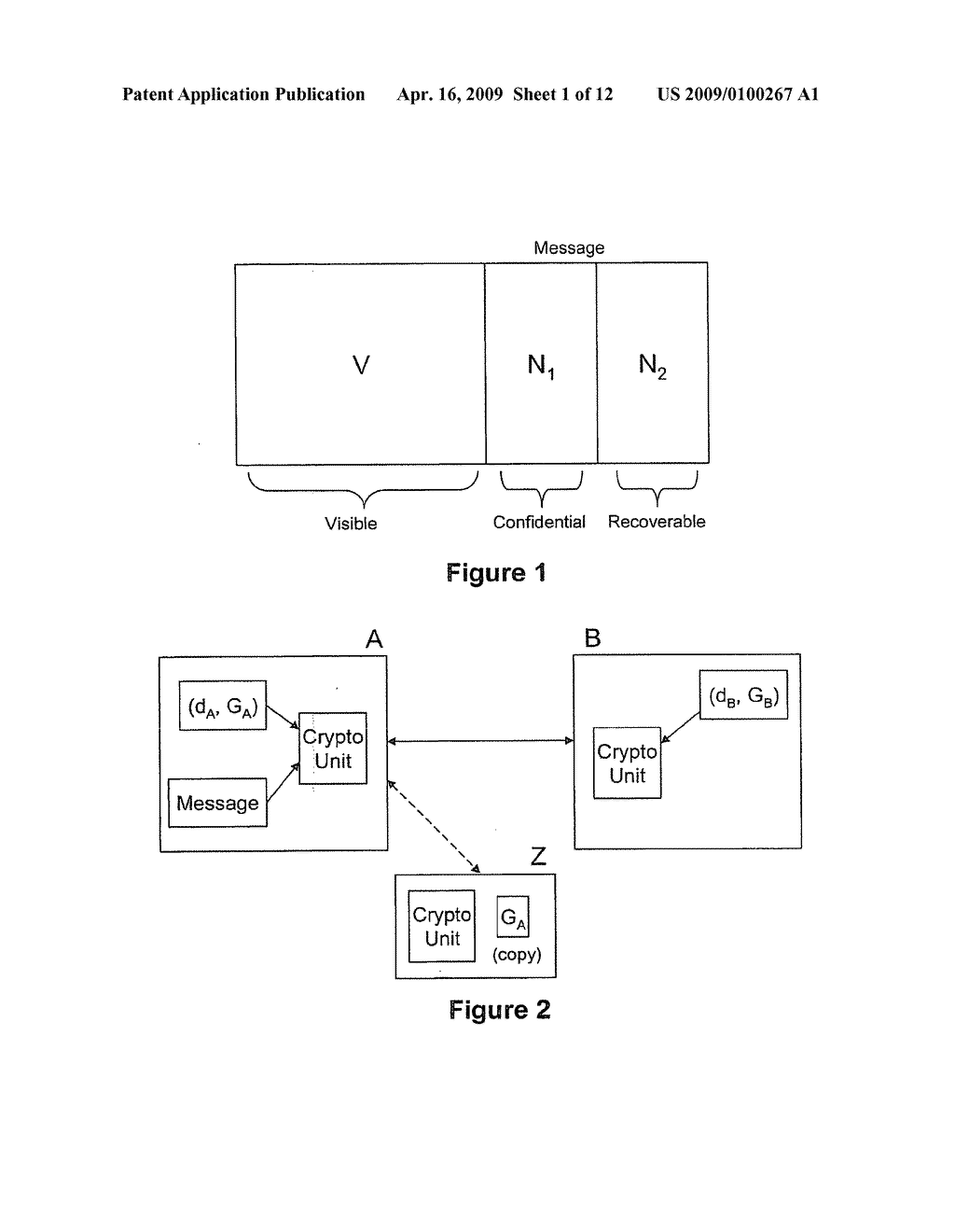 Signatures with confidential message recovery - diagram, schematic, and image 02