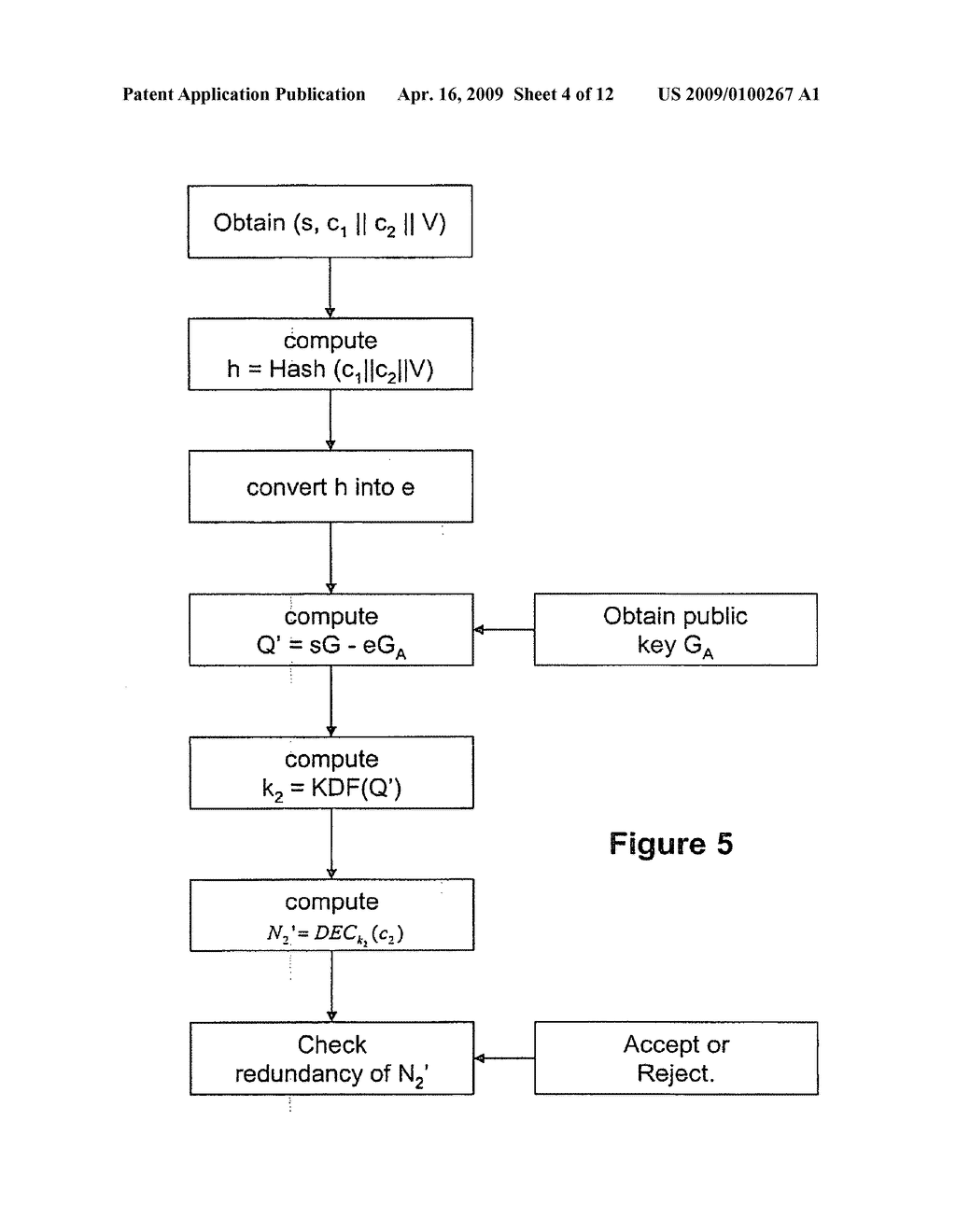 Signatures with confidential message recovery - diagram, schematic, and image 05