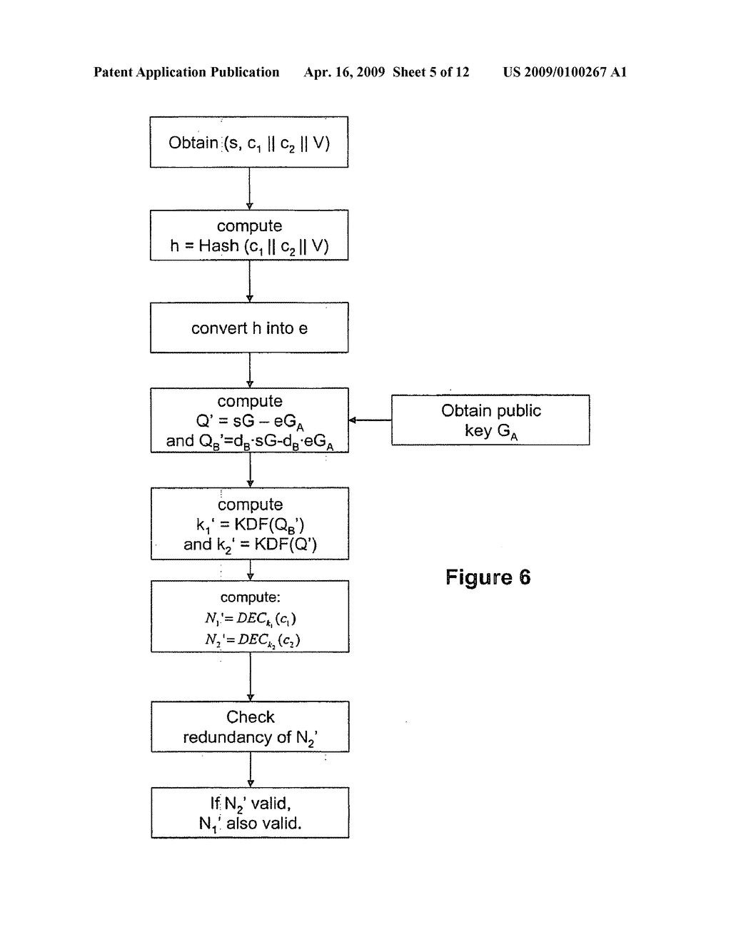 Signatures with confidential message recovery - diagram, schematic, and image 06