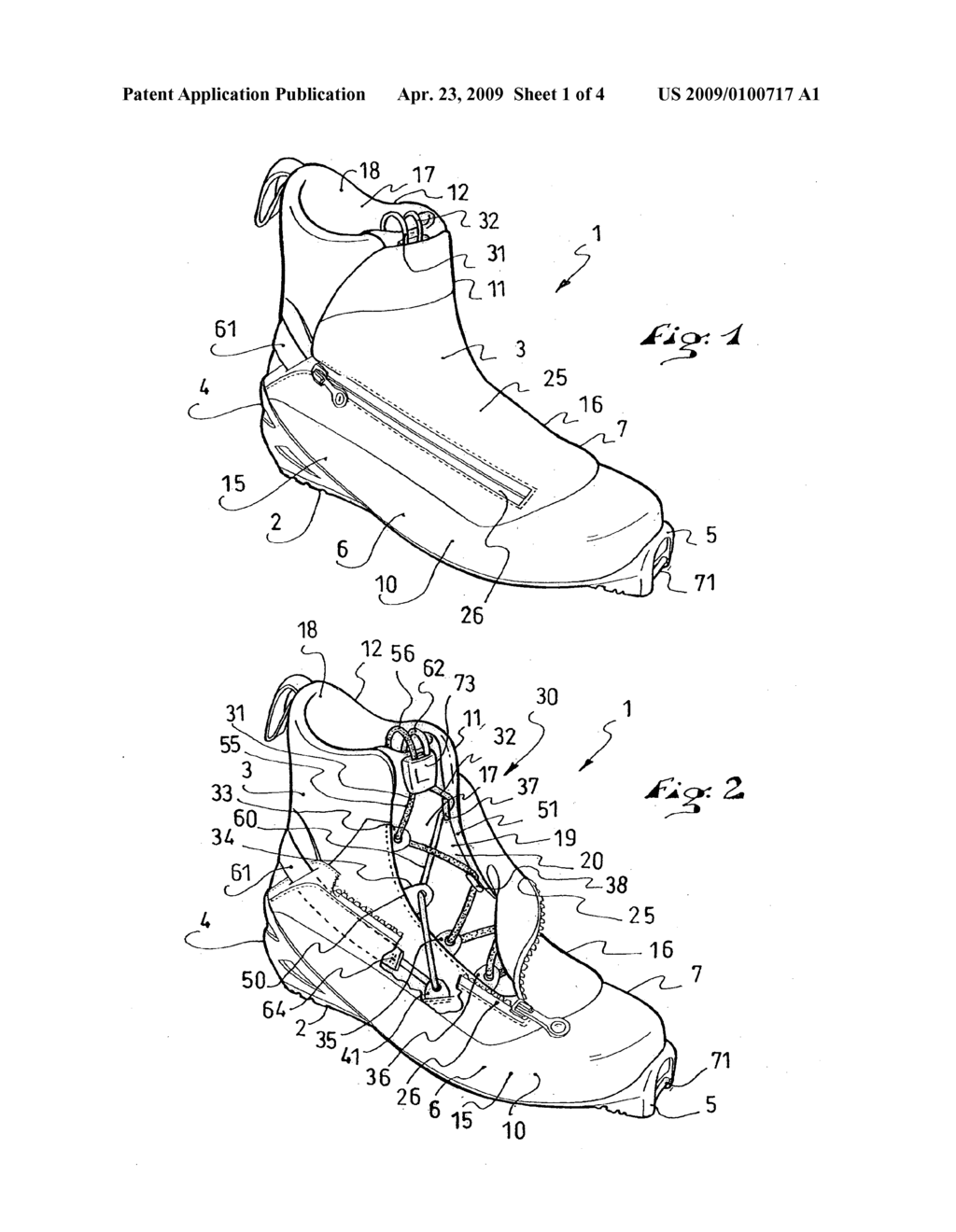 BOOT WITH IMPROVED TIGHTENING OF UPPER - diagram, schematic, and image 02