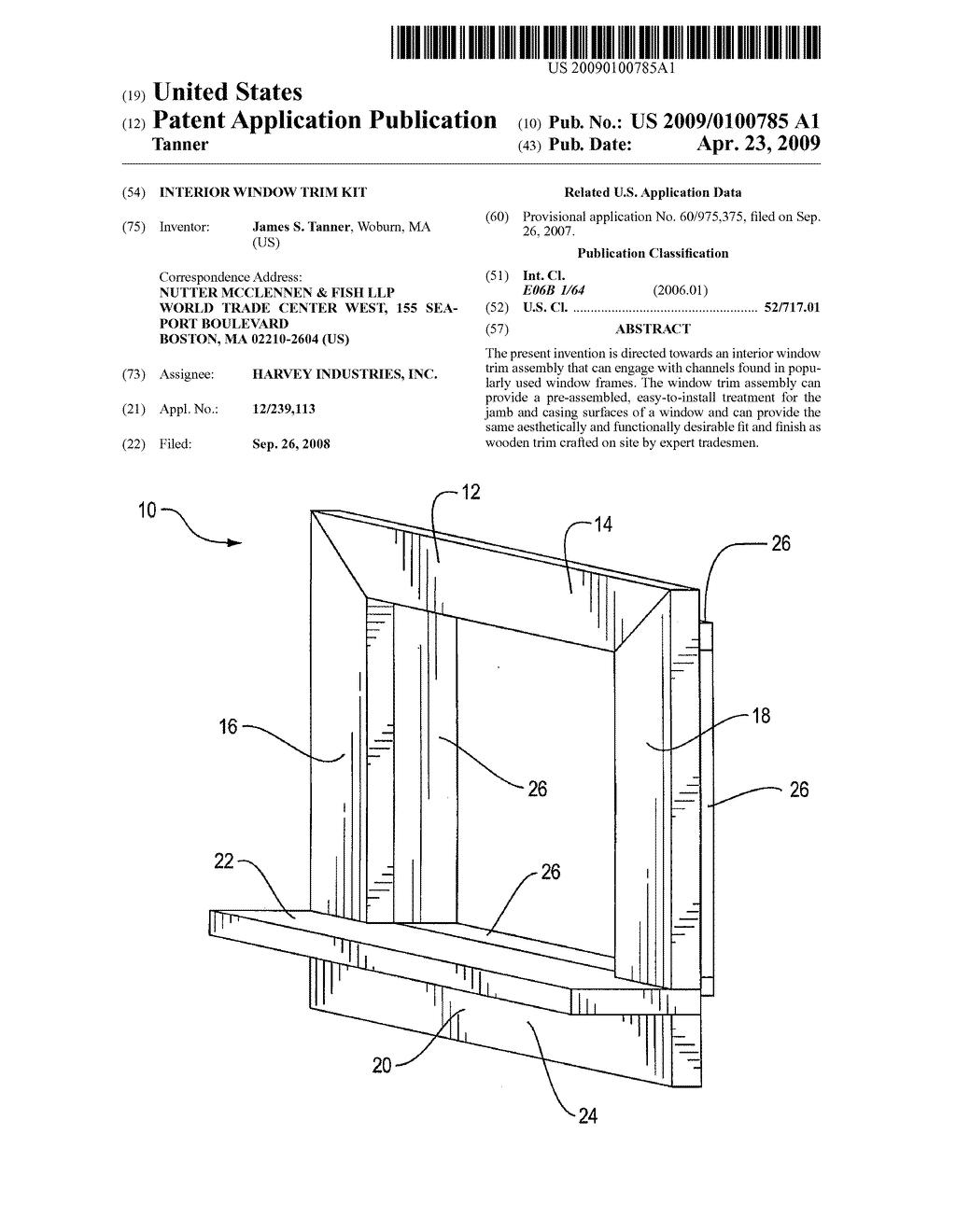Interior window trim kit - Interior Window Trim Kit 0