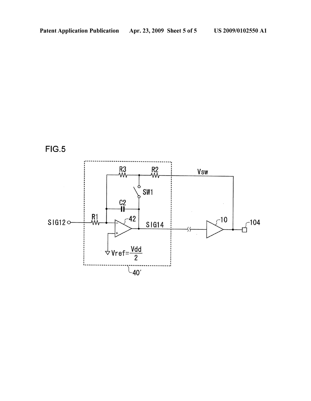 AUDIO SIGNAL AMPLIFIER CIRCUIT WITH A MUTE FUNCTION - diagram, schematic, and image 06