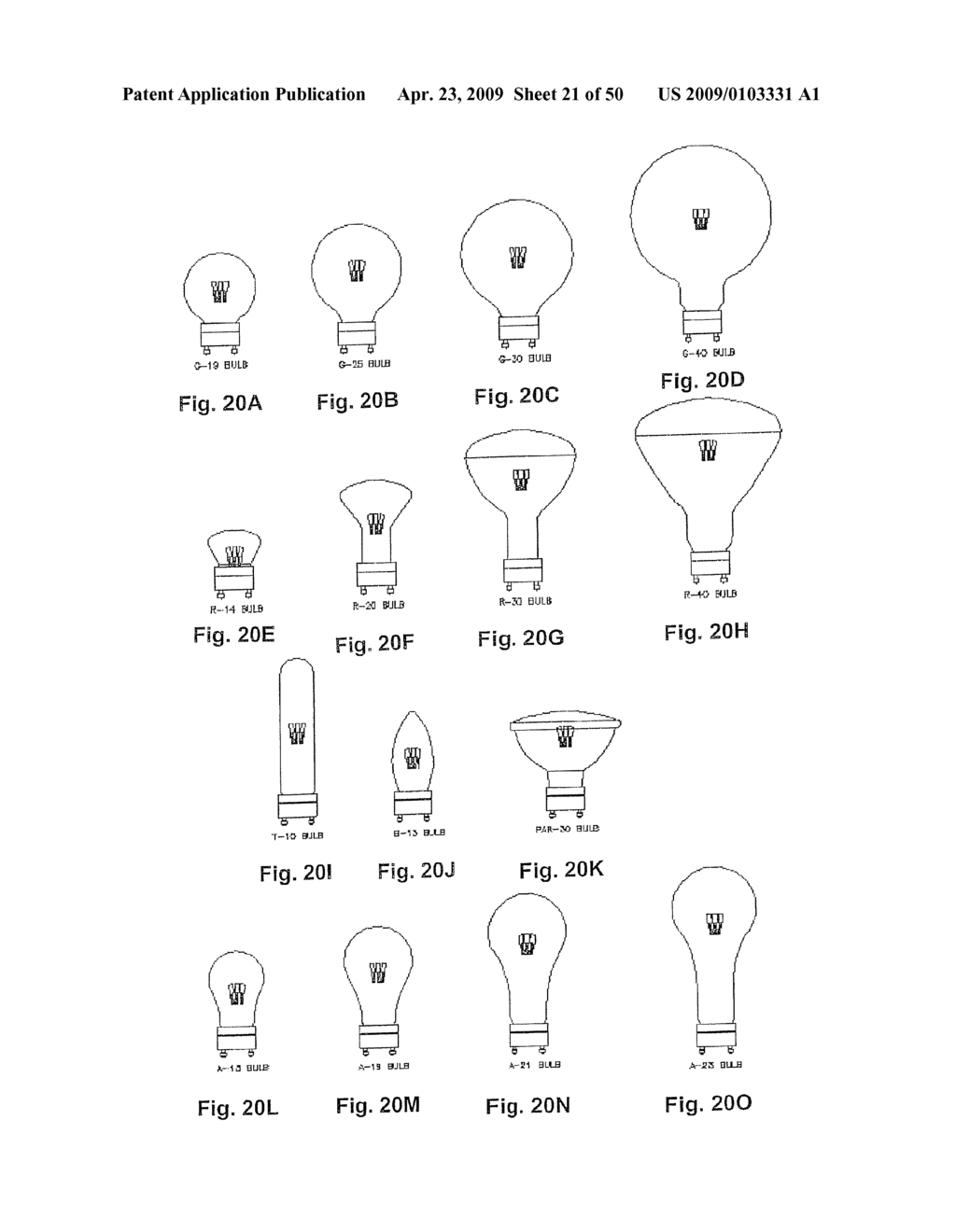 Incandescent and LED Light Bulbs and Methods and Devices for Converting Between Incandescent Lighting Products and Low-Power Lighting Products - diagram, schematic, and image 22