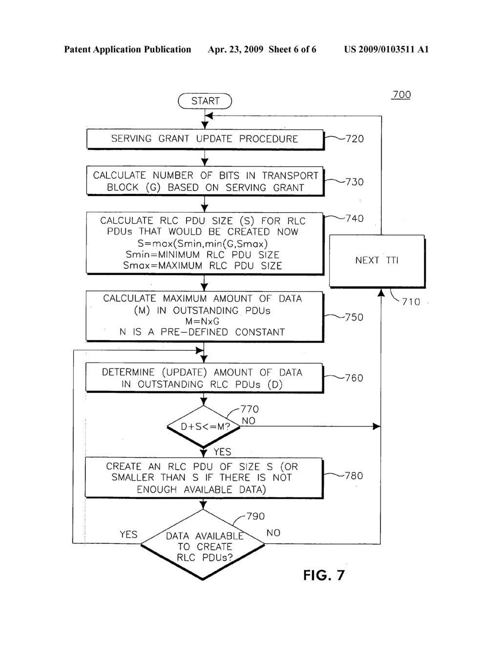METHOD AND APPARATUS FOR SELECTING A RADIO LINK CONTROL PROTOCOL ...
