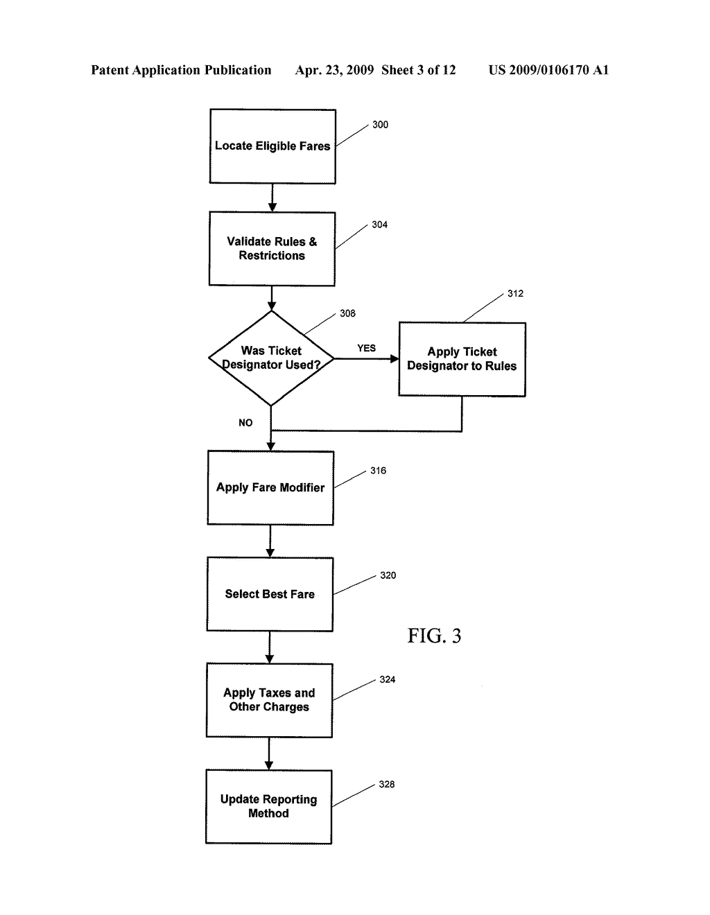 METHOD AND SYSTEM FOR AIR FARE VERIFICATION AUDITING - diagram, schematic, and image 04