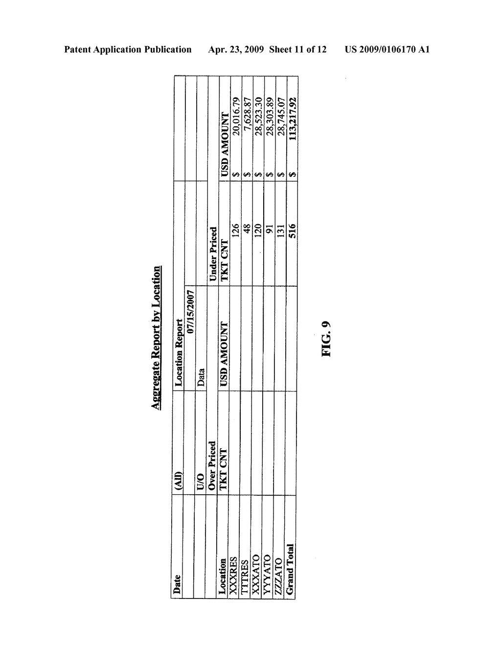 METHOD AND SYSTEM FOR AIR FARE VERIFICATION AUDITING - diagram, schematic, and image 12