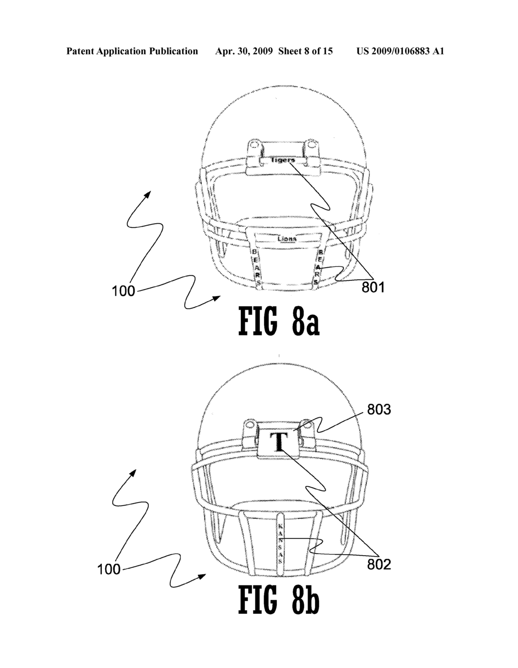INFORMATION DISPLAY ON FACEMASKS - diagram, schematic, and image 09