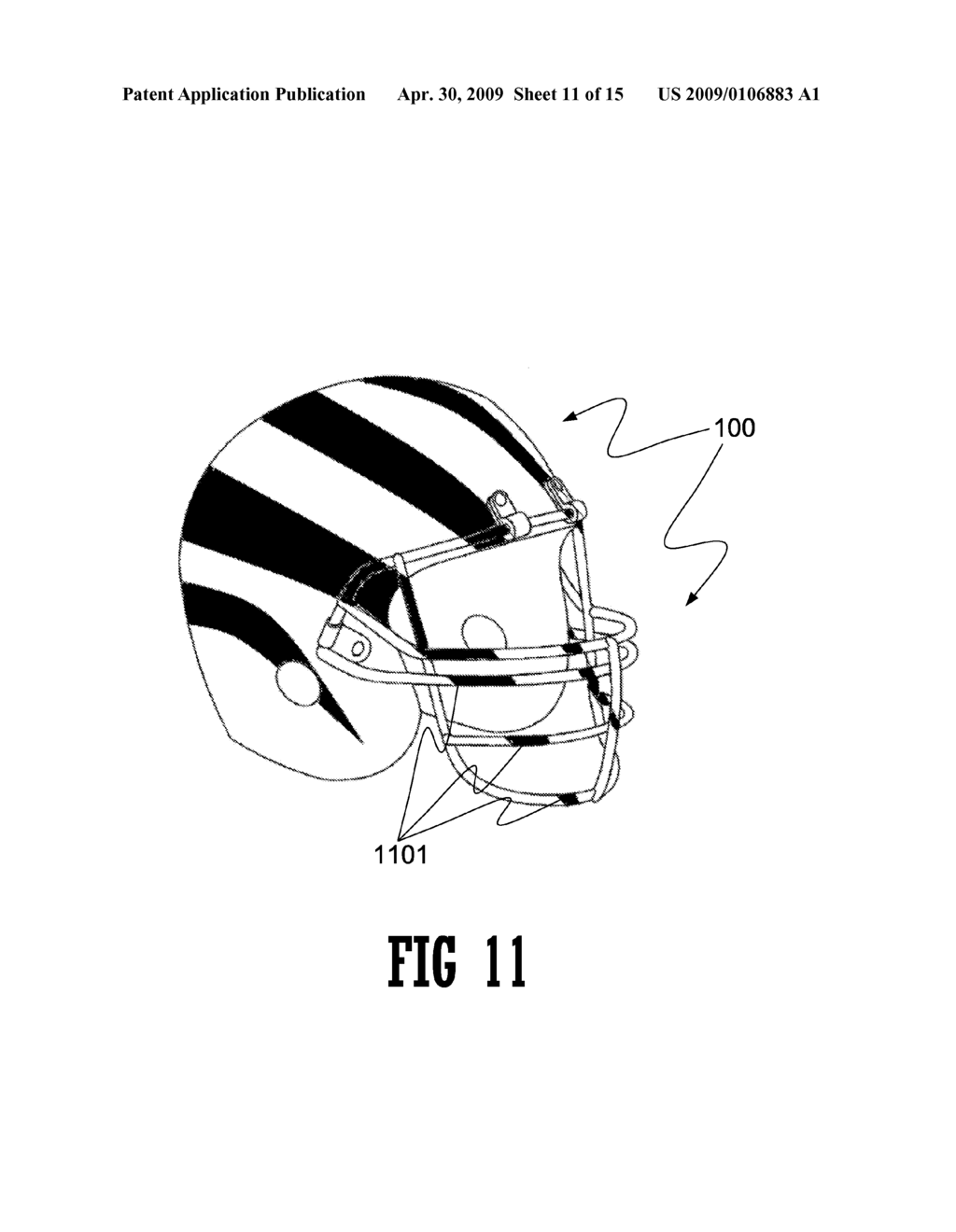 INFORMATION DISPLAY ON FACEMASKS - diagram, schematic, and image 12