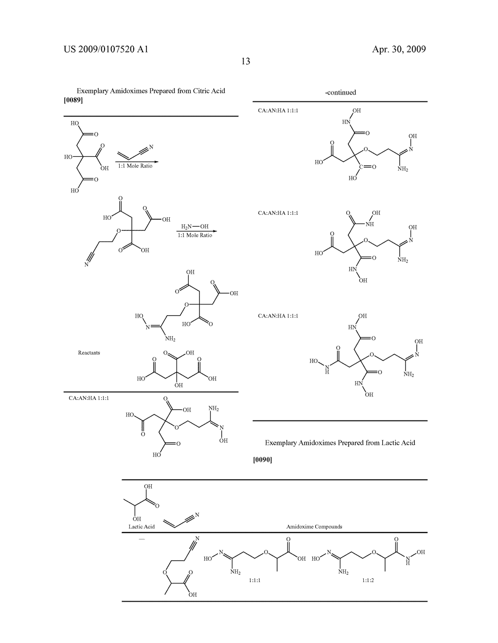 AMIDOXIME COMPOUNDS AS CHELATING AGENTS IN SEMICONDUCTOR PROCESSES - diagram, schematic, and image 14