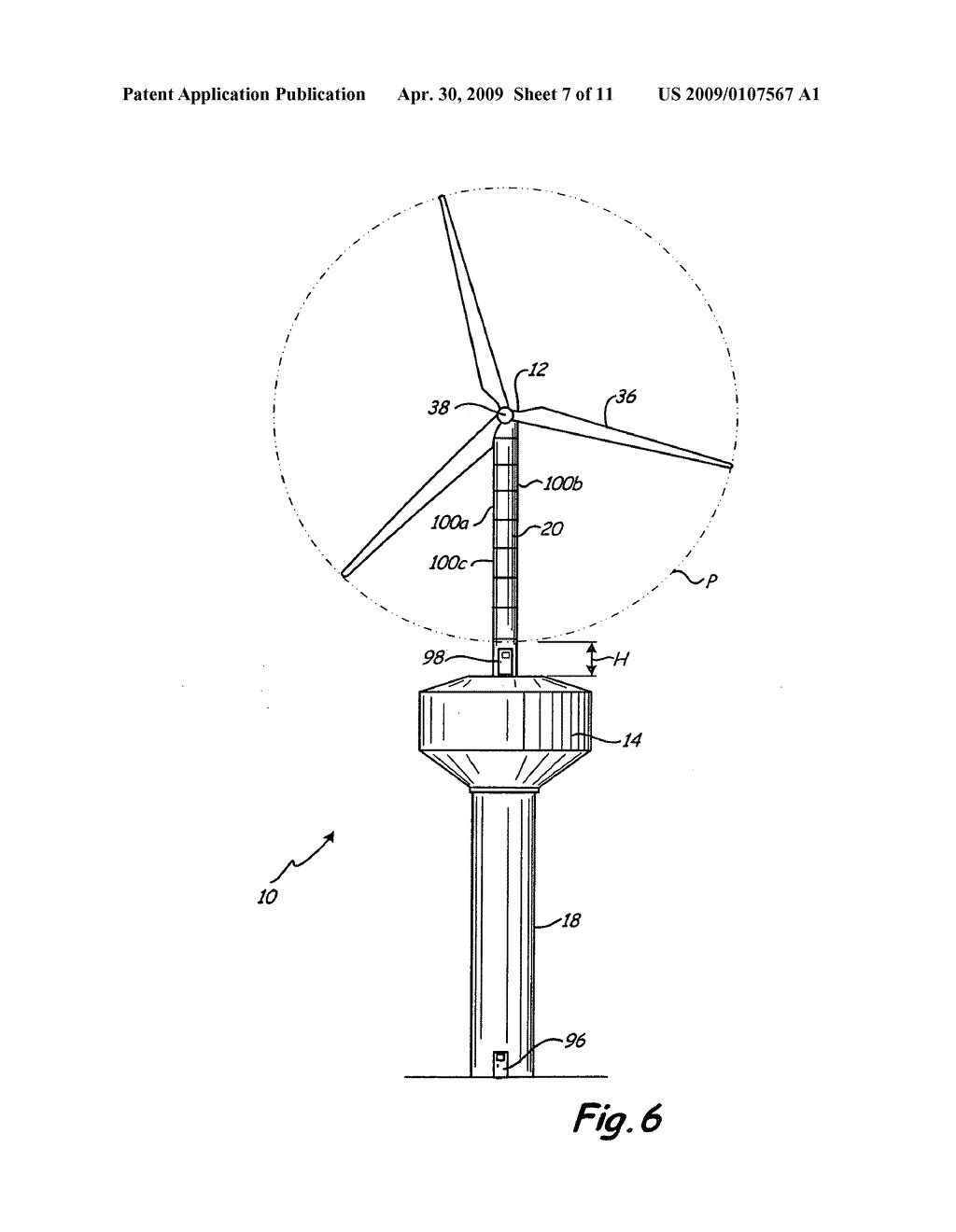 Wind turbines tower schematics basic guide wiring diagram combination water tower and electrical wind turbine generator rh patentsencyclopedia com wind turbine charge controller schematic wind turbine wiring ccuart Choice Image