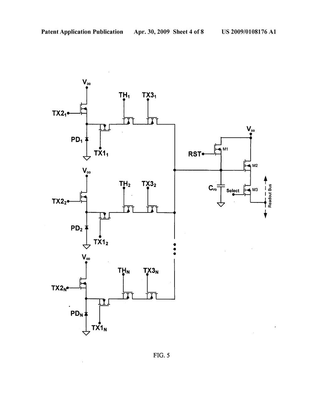 Global Shutter Pixel Circuit With Transistor Sharing For Cmos Image In Sensors Diagram Schematic And 05