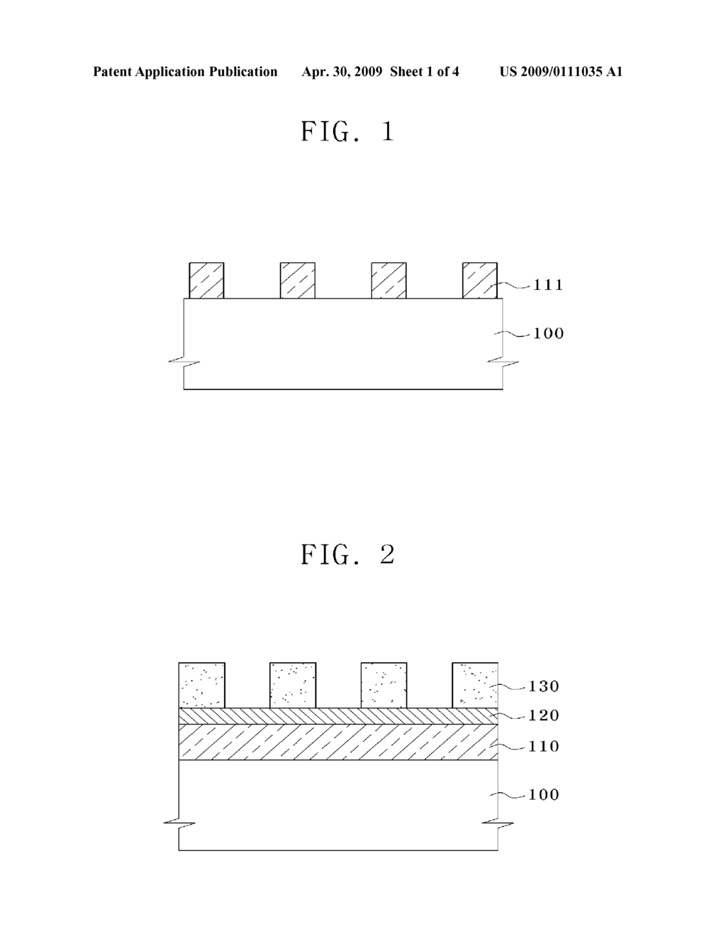 BINARY MASK, METHOD FOR FABRICATING THE BINARY MASK, AND METHOD FOR FABRICATING FINE PATTERN OF SEMICONDUCTOR DEVICE USING BINARY MASK - diagram, schematic, and image 02