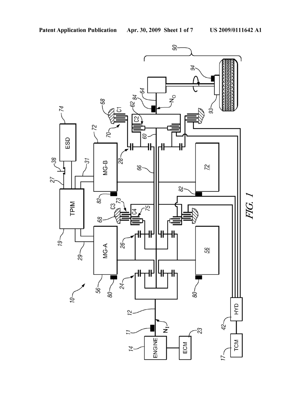 METHOD AND APPARATUS TO CONTROL CLUTCH STROKE VOLUME IN AN ELECTRO-MECHANICAL TRANSMISSION - diagram, schematic, and image 02
