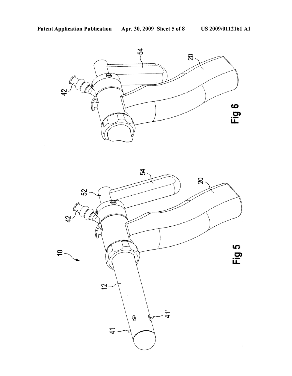 Medical Instrument with Injection Needles That Can Be Spread Out Sideways - diagram, schematic, and image 06
