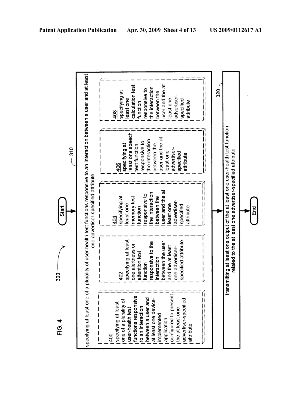 Computational user-health testing responsive to a user interaction with advertiser-configured content - diagram, schematic, and image 05