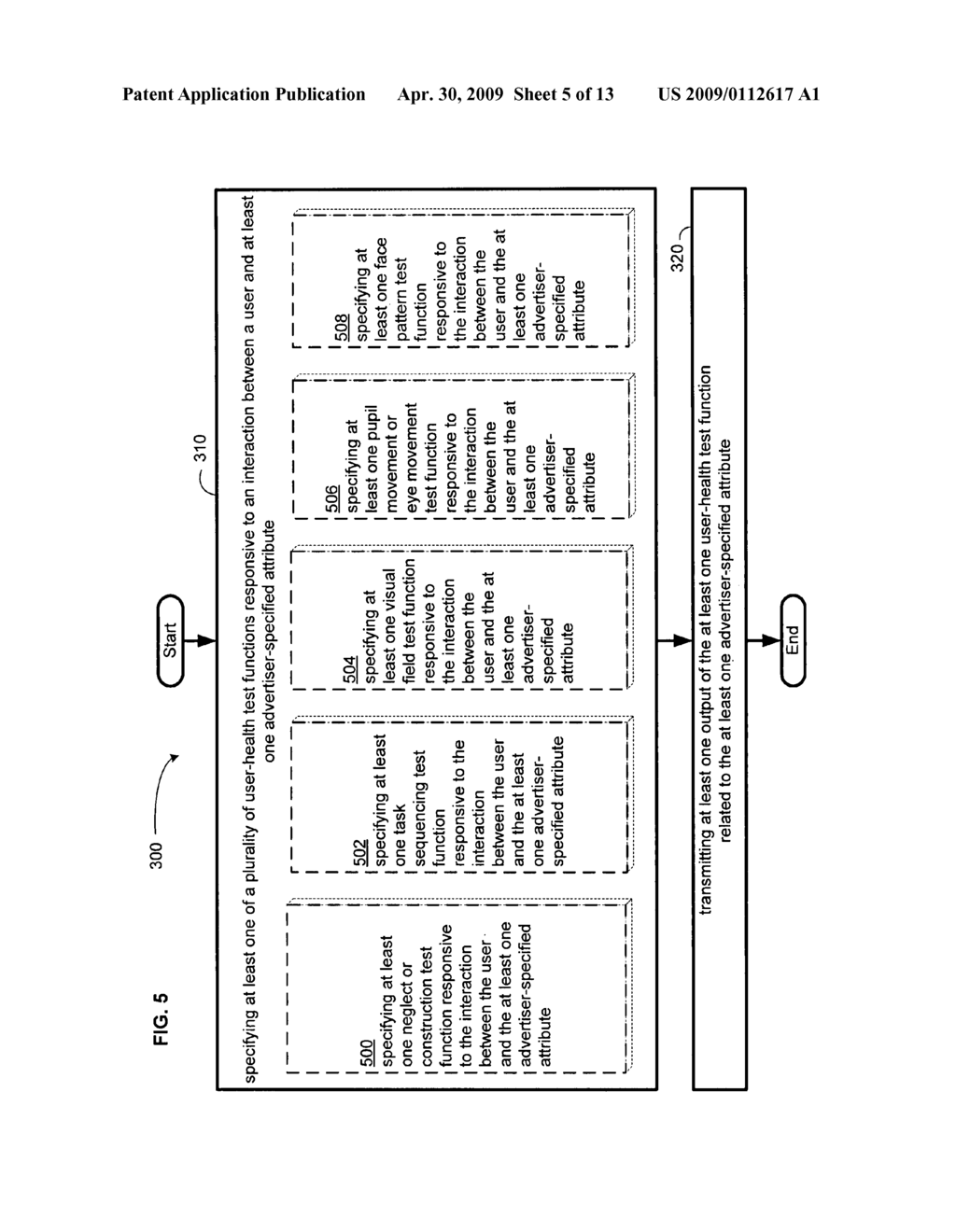 Computational user-health testing responsive to a user interaction with advertiser-configured content - diagram, schematic, and image 06