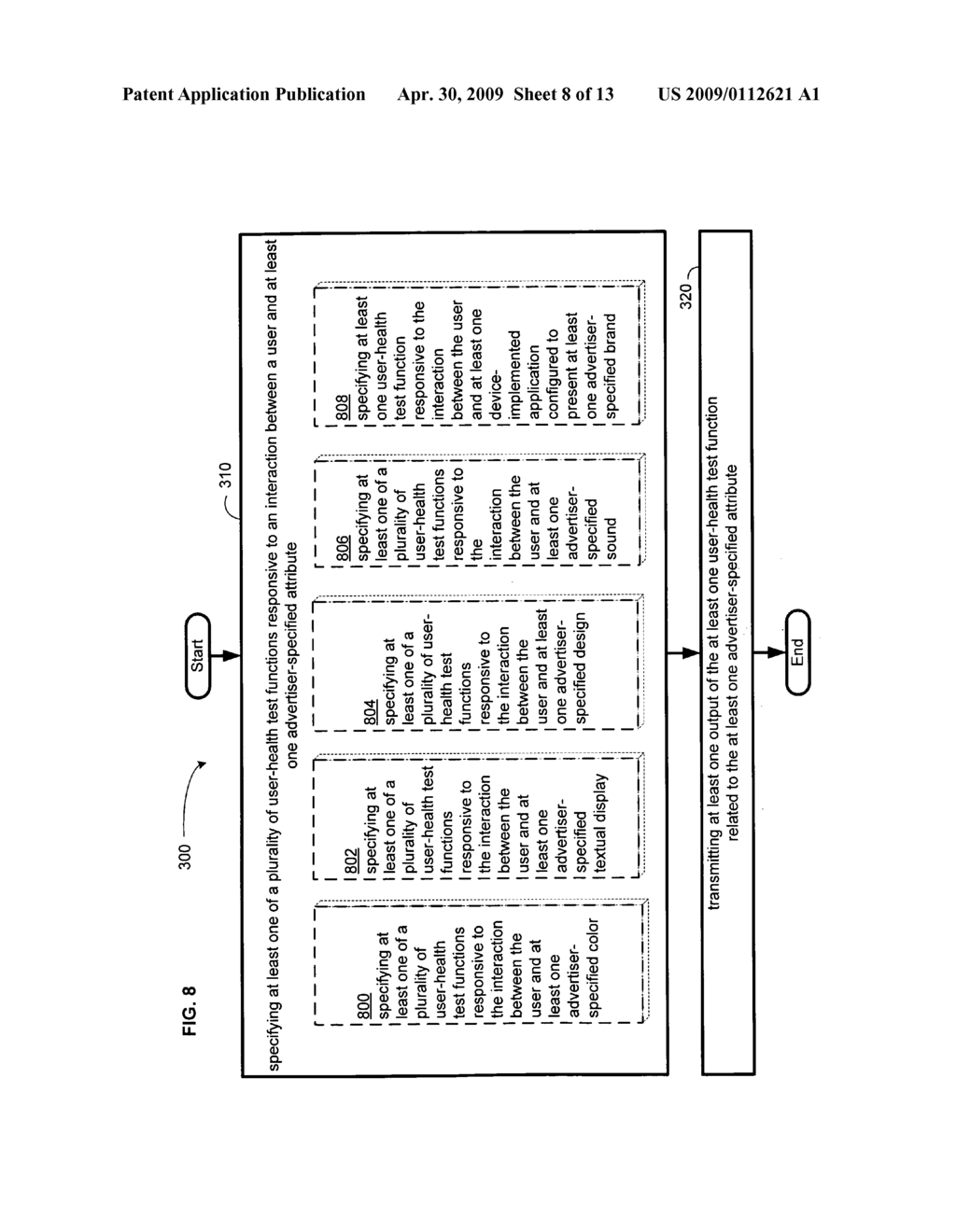 Computational user-health testing responsive to a user interaction with advertiser-configured content - diagram, schematic, and image 09