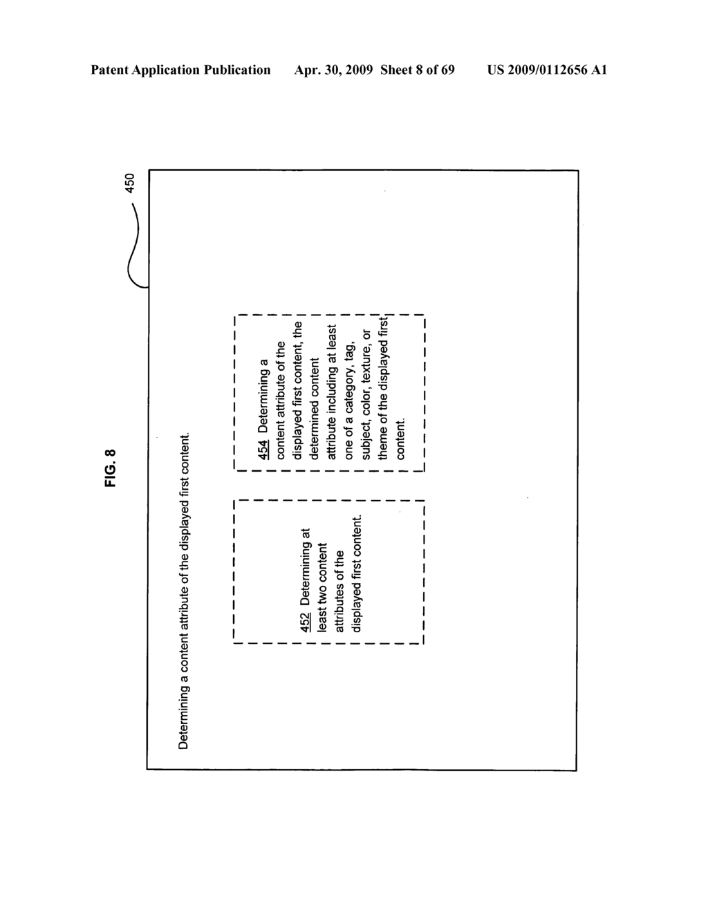 Returning a personalized advertisement - diagram, schematic, and image 09