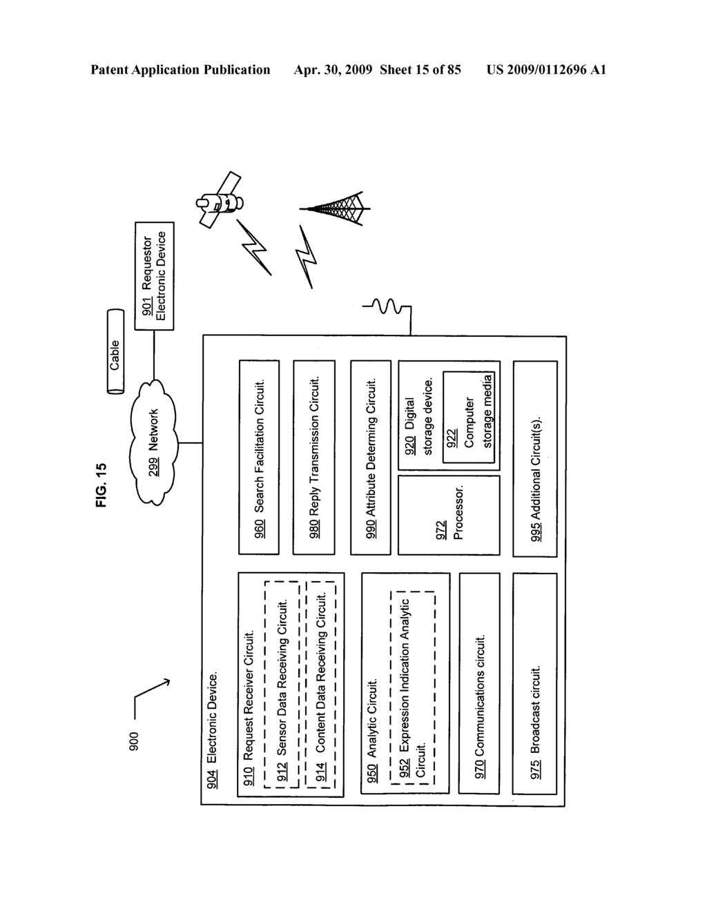 Method of space-available advertising in a mobile device - diagram, schematic, and image 16