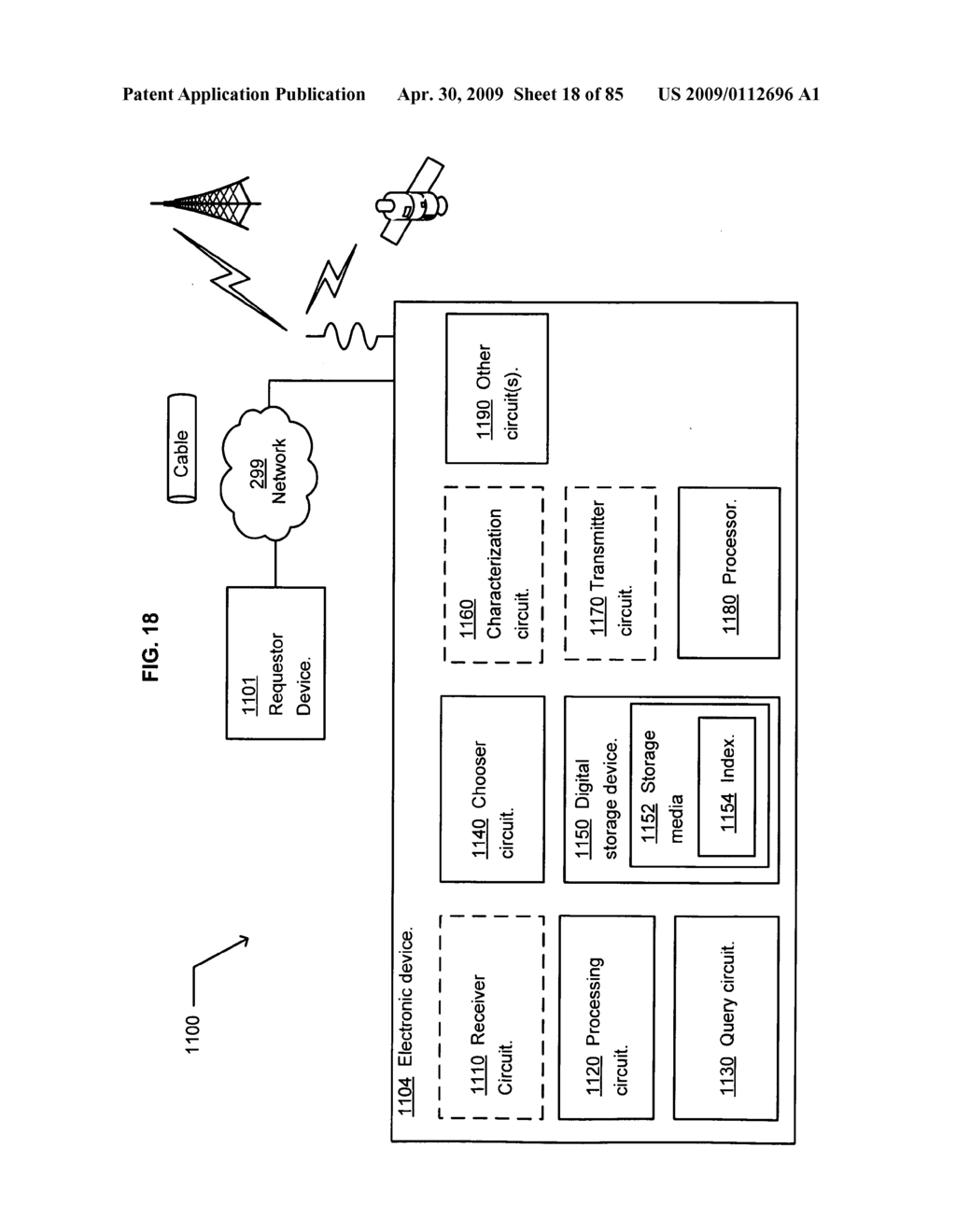 Method of space-available advertising in a mobile device - diagram, schematic, and image 19