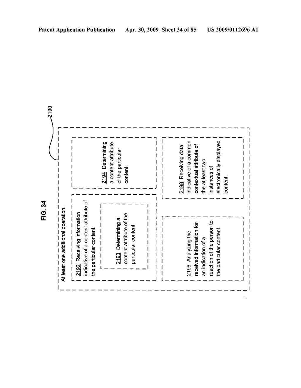 Method of space-available advertising in a mobile device - diagram, schematic, and image 35