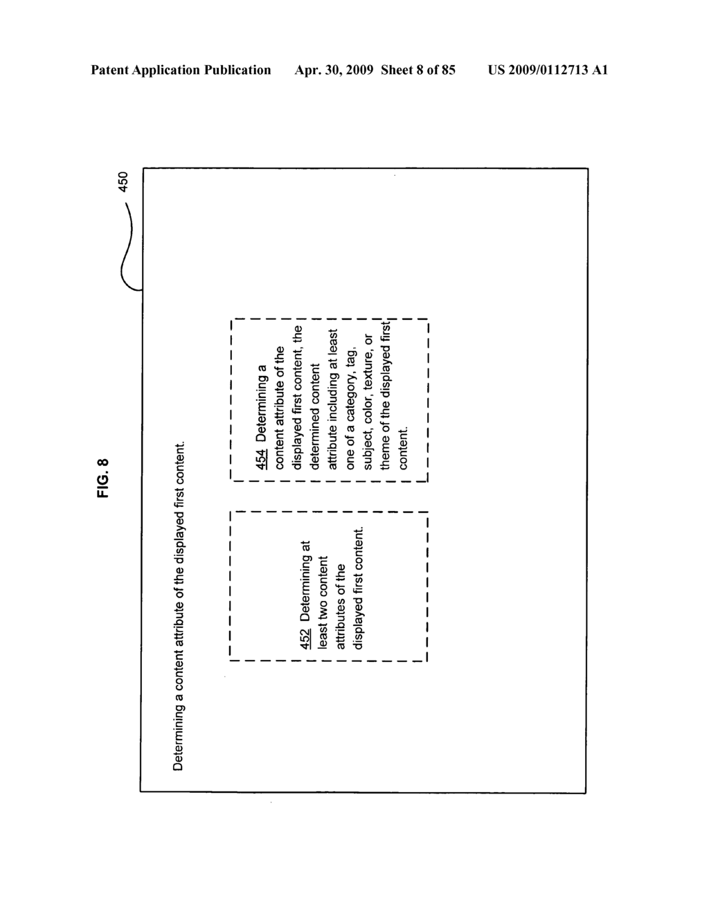 Opportunity advertising in a mobile device - diagram, schematic, and image 09