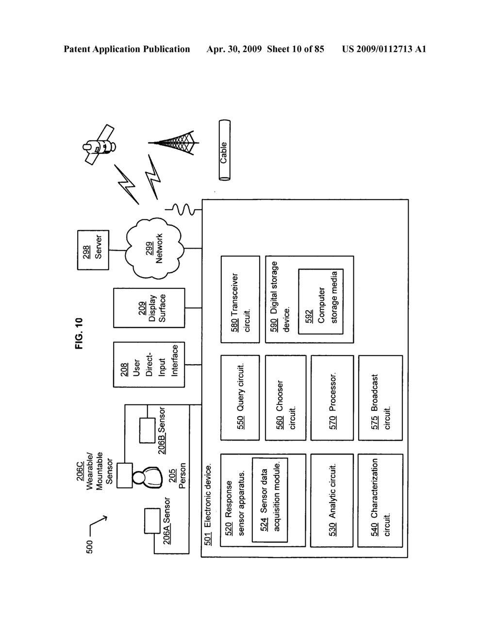 Opportunity advertising in a mobile device - diagram, schematic, and image 11