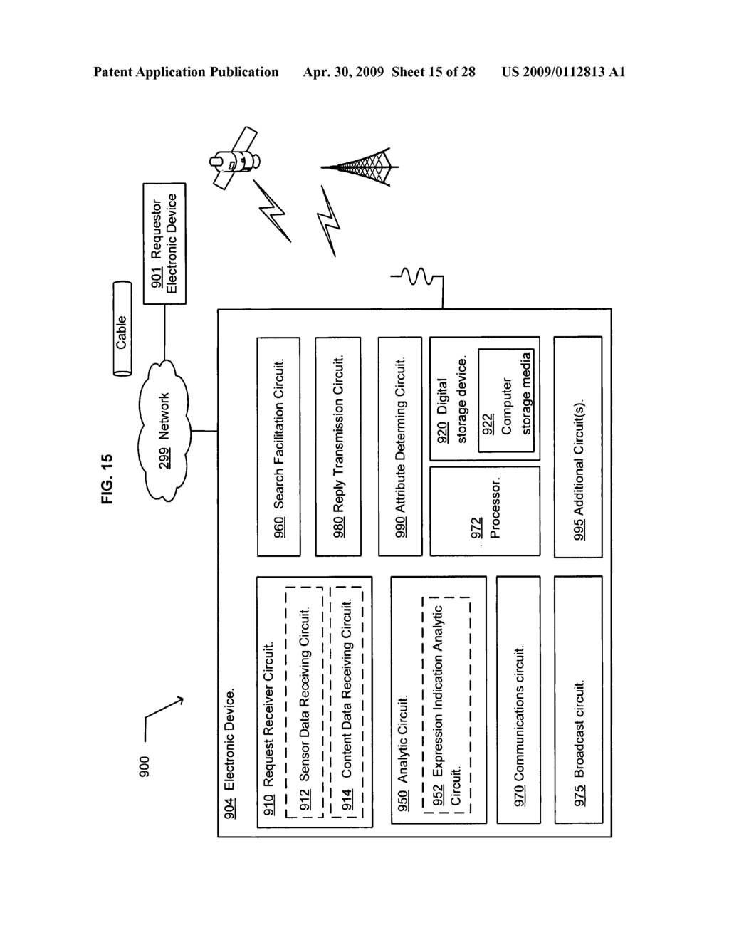 Method of selecting a second content based on a user's reaction to a first content of at least two instances of displayed content - diagram, schematic, and image 16