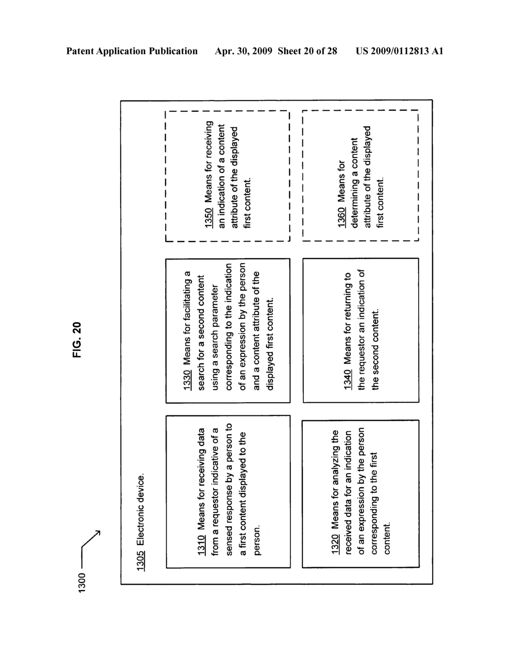 Method of selecting a second content based on a user's reaction to a first content of at least two instances of displayed content - diagram, schematic, and image 21