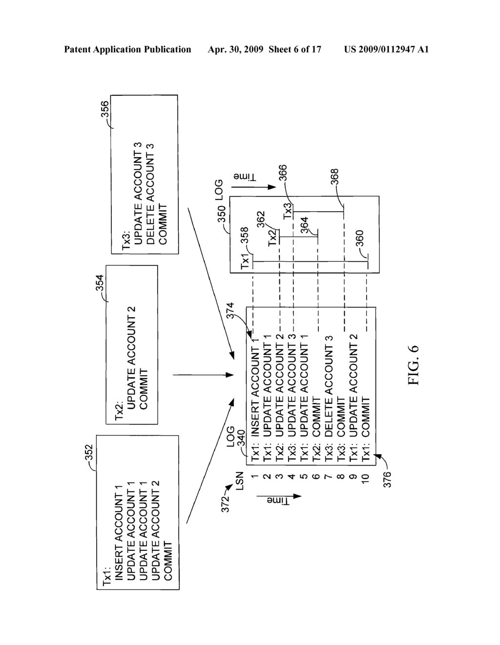 Database Log Capture that Publishes Transactions to Multiple Targets to Handle Unavailable Targets by Separating the Publishing of Subscriptions and Subsequently Recombining the Publishing - diagram, schematic, and image 07