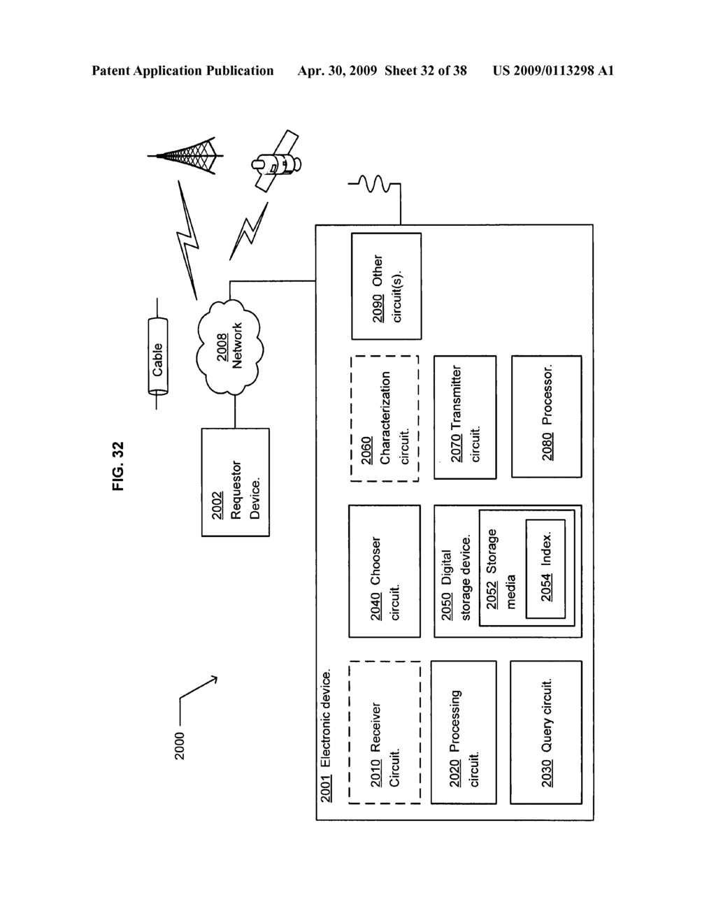 Method of selecting a second content based on a user's reaction to a first content - diagram, schematic, and image 33