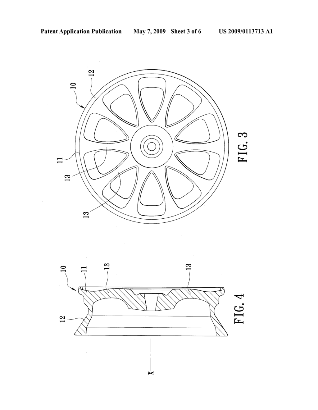 Method for Making a Wheel Rim - diagram, schematic, and image 04