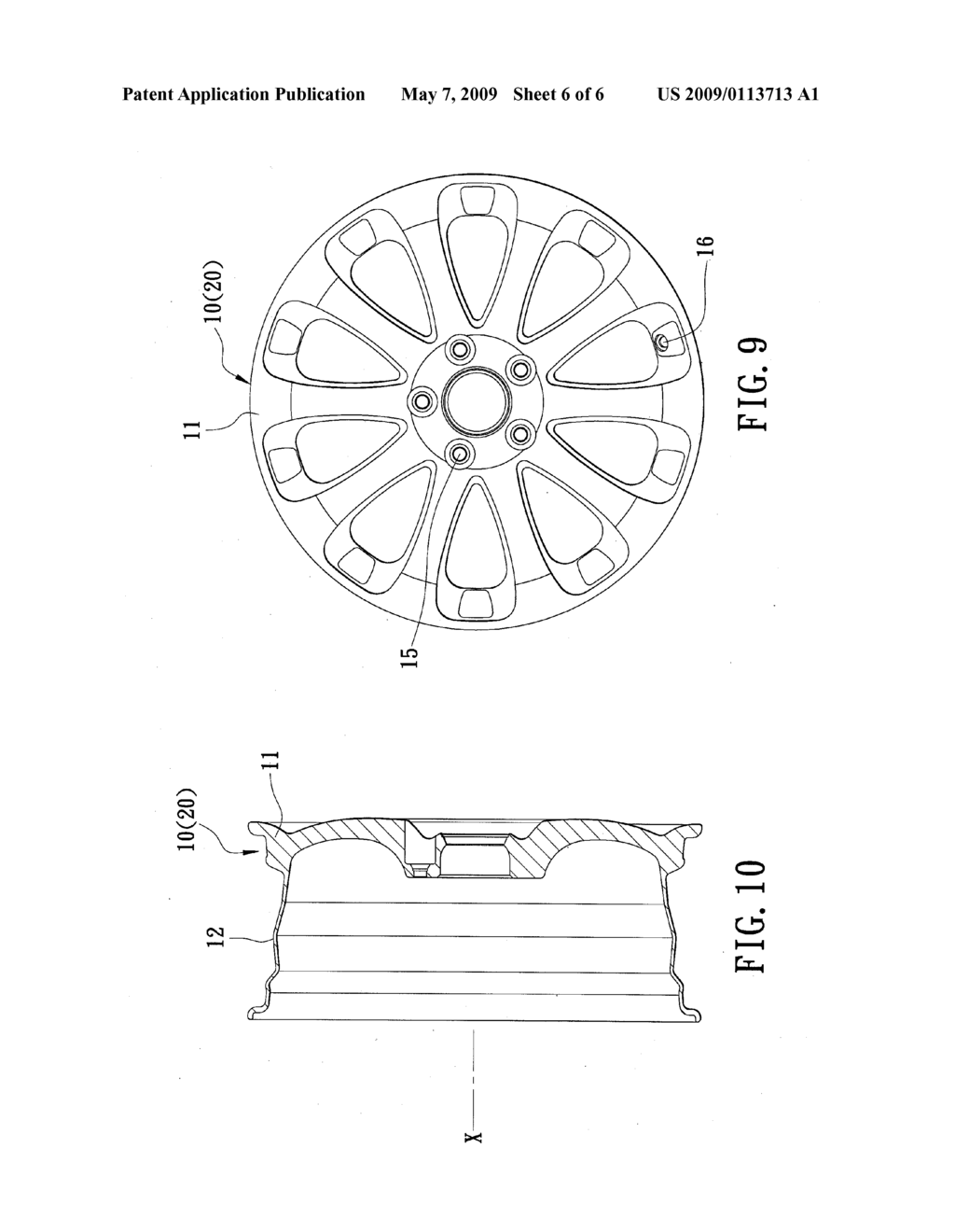 Method for Making a Wheel Rim - diagram, schematic, and image 07