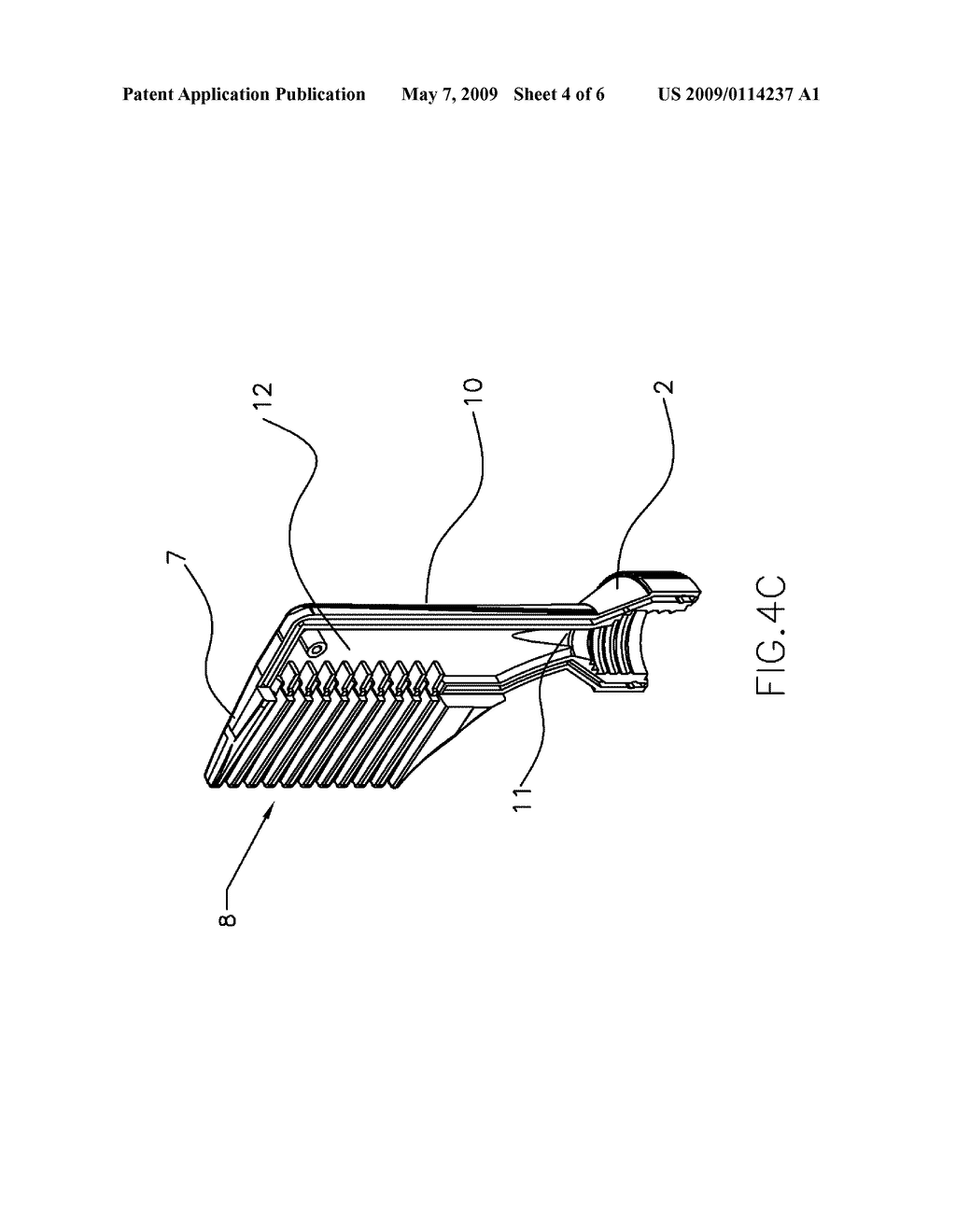 AIR OXIDATION HAIR DYE APPLICATION SYSTEM AND METHOD FOR COLORING HAIR USING THE SAME - diagram, schematic, and image 05