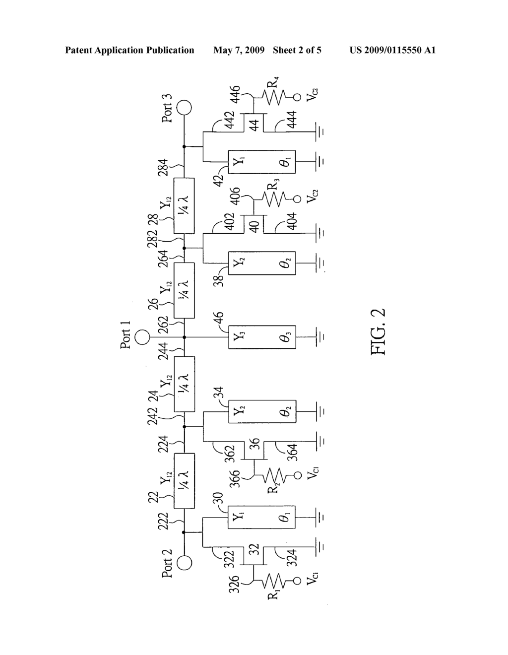 Single Pole Double Throw Switch Integrated With Band Pass Filtering Wiring Diagram Function Schematic And Image 03