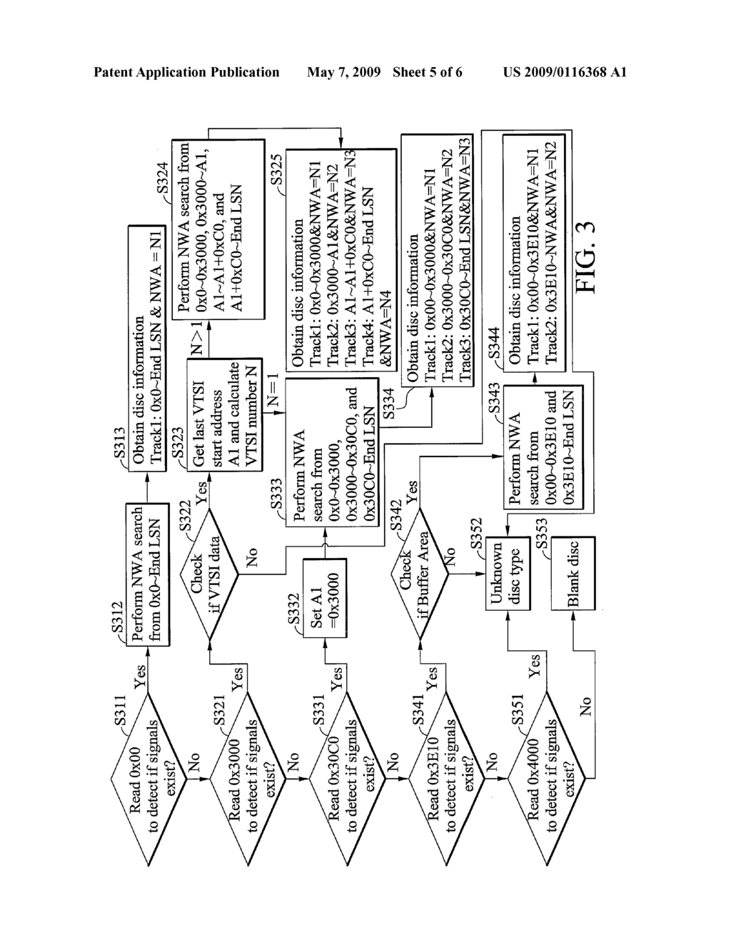 METHOD AND SYSTEM FOR DETERMINING DISC FORMAT FOR RECOVERY OF DATA RECORDING - diagram, schematic, and image 06