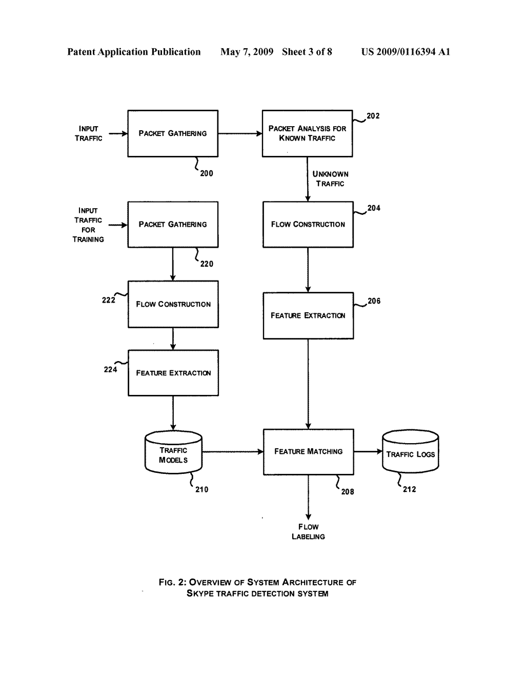 System and method for skype traffice detection - diagram, schematic, and image 04