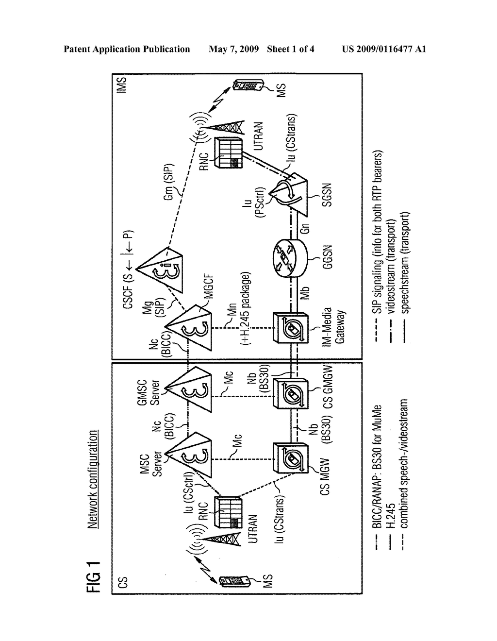 Signaling Referring to Setup of H.324 Video Telephone Between Media Gateway and Controller - diagram, schematic, and image 02