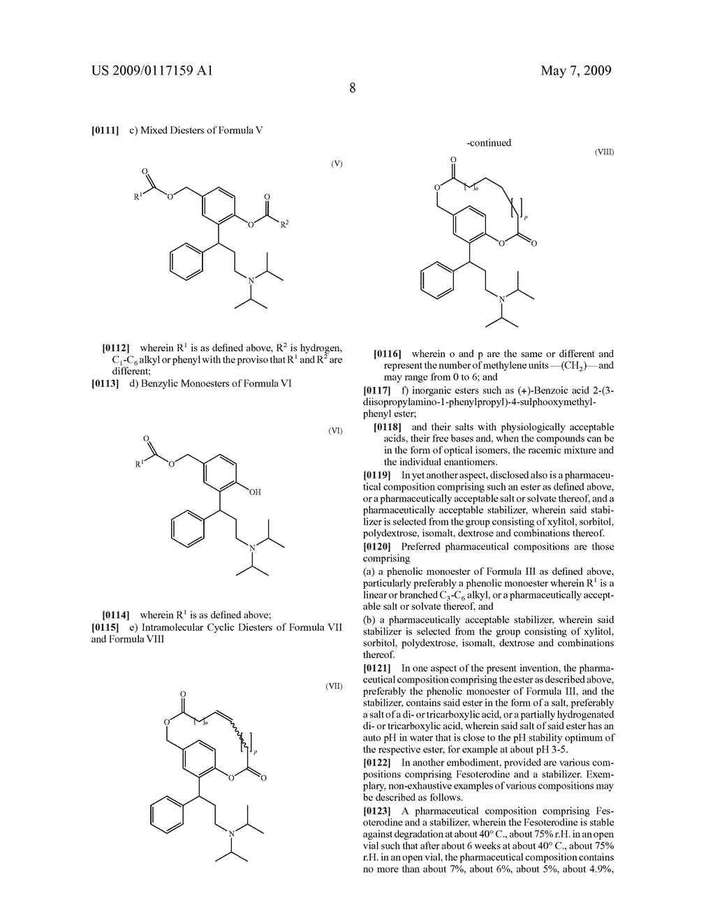 PHARMACEUTICAL COMPOSITIONS COMPRISING FESOTERODINE - diagram, schematic, and image 18