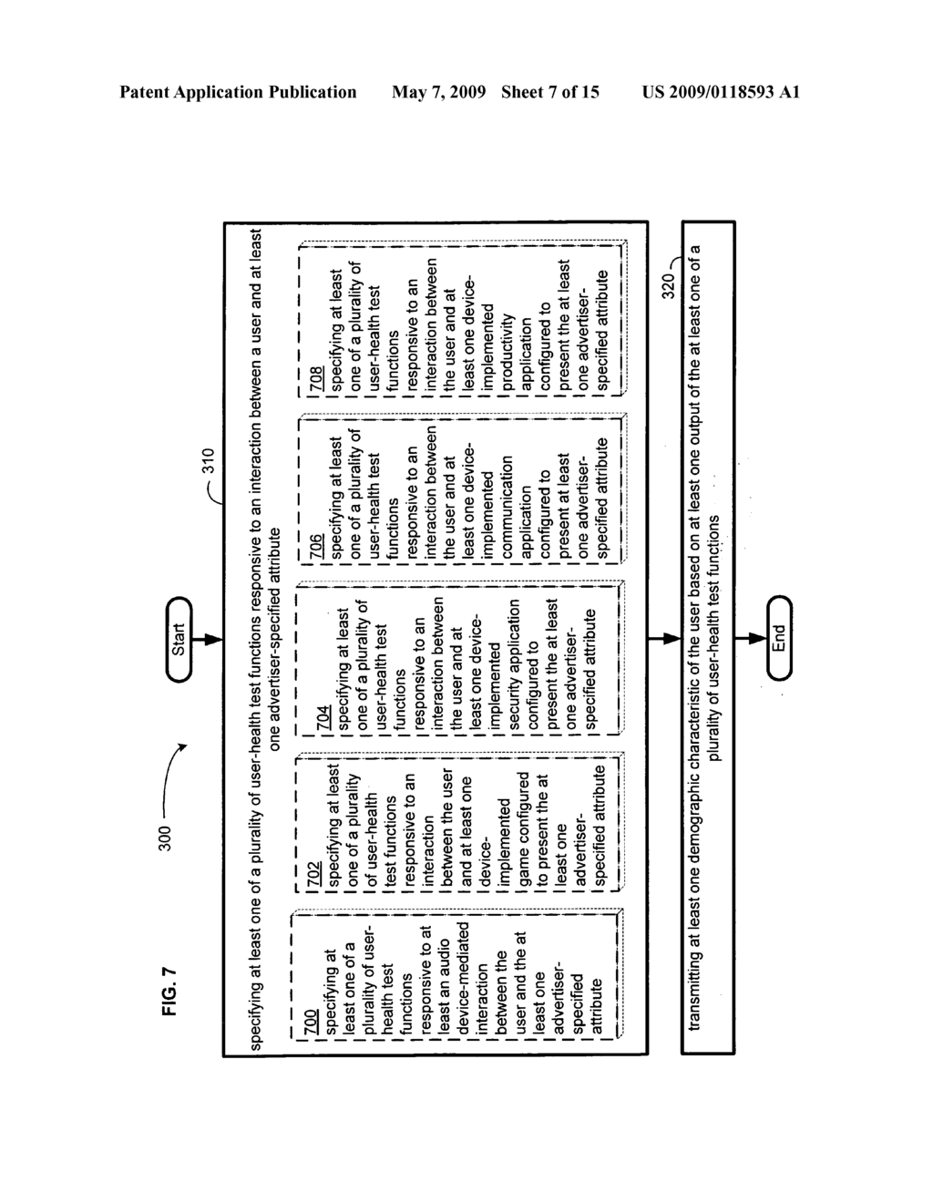 Determining a demographic characteristic based on computational user-health testing of a user interaction with advertiser-specified content - diagram, schematic, and image 08